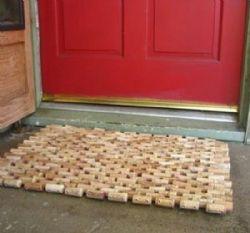 Come fare un tappeto con i tappi di sughero giardino - Sughero pianta da giardino ...